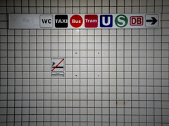 all directions (masine) Tags: sign traffic nuremberg kacheln tiles nrnberg nahverkehr hinweis