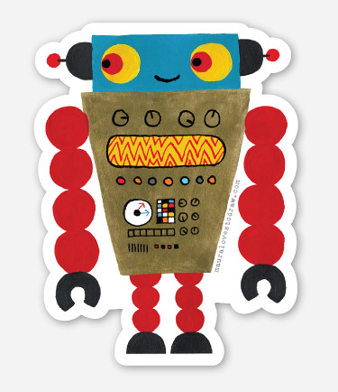 new robot sticker coming soon!
