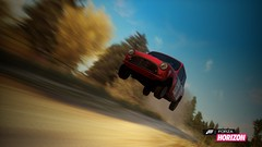 Mini Cooper Rally (LordlyCascade7) Tags: car flying jump automobile horizon rally xbox 360 mini cooper forza fh airborn automobilia