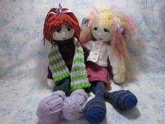 A&CKnitDolls2 (toureasy47201) Tags: doll handmade knit yarn knitteddolls arnecarlos