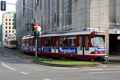 Rheinbahn 3061 [Dusseldorf tram] (Howard_Pulling) Tags: canon germany deutschland photo october photos transport picture tram german dusseldorf trams verkehr 2009 strassenbahn rheinbahn 400d hpulling howardpulling