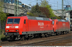 DB145026_145055GB_240408 (Catcliffe Demon) Tags: germany deutschland europe db railion electriclocomotive dbcargo dbschenker baureihe145 railiondblogistics dbrailionlogistics 145class