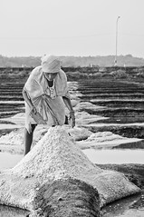 Goa has salt pans too (Anoop Negi) Tags: winter sea summer portrait woman india girl river photography photo holidays goa salt you