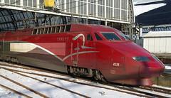 Thalys PBA 4538 at Amsterdam Centraal (Nik Morris (van Leiden)) Tags: netherlands train nederland trein highspeed pba thalys