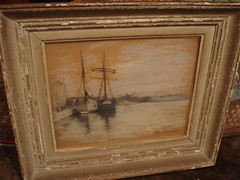 """SHIPS PASTEL DRAWING • <a style=""""font-size:0.8em;"""" href=""""http://www.flickr.com/photos/51721355@N02/8436358470/"""" target=""""_blank"""">View on Flickr</a>"""