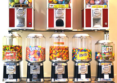 Candy (eddi_monsoon) Tags: candy vendingmachines 52 candymachines 52weeks