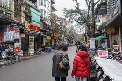Street Scene, Ancient Quarter, Hanoi (EvanGilder) Tags: danielle people travel vietnam hanoi buddhism temple unesco