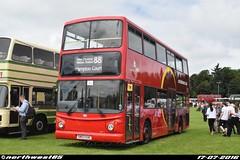 TA324 (northwest85) Tags: park bus buses court cardinal rally alexander dennis hampton alton trident displaying anstey 2016 881 alx400 eae sn03 ta324 sn03eae