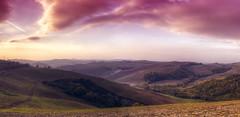 Val d'Orcia XVI (Guido Pezzatini) Tags: landscape paesaggio mattino valdorcia canon travel passione colore clouds nuvole hills colline crete cretesenesi