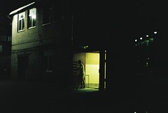000038 (Johann Kööp) Tags: 35mm colour film canon 50e fujicolour fujifilm c200 mood moody night darkness city lights fixed focal lenght 50mm stm shootfilm tallinn estonia