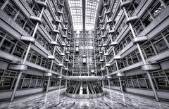 Starships. (Massimo Cuomo Photography) Tags: berlin massimo cuomo architecture modern symmetry nikon 1424 ludwig erhard haus germany