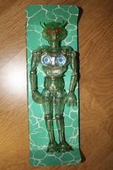 Invader Packaging (Takara 1970's) (Donald Deveau) Tags: invadero takara vintagetoy japanesetoy sciencefiction henshincyborg