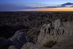 Twilight at Pinnacles (Explore 6!) (Sam Wagner Photography) Tags: pinnacles vantage view entrance south dakota badlands national park twilight landscape long exposure blur magic hour