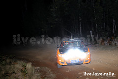 Hyundai FX Coupe (imagesbycraigobrien) Tags: victorianclubrallyseries rally rallying victorianrallying night spotlights nightrally hyundai fxcoupe f2 formula2 rallycar lukesimpson