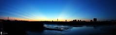 2016-08-22  (Steven Weng) Tags:    2016 sunset    taiwan taipei canon eosm photomerge  skyline