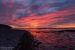Coucher de soleil à la Pointe-Sec (Pierre Lemieux) Tags: montlouis québec canada sunset gaspésie coucherdesoleil