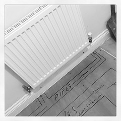 #AugustBreak2016 21 -- #todayis. Today is day three of our central heating repairs/upgrades. Really seeing progress now! #domesticity #homeiswheretheheartis #home #heatgenius #latergram #boringbuttrue #grateful (heathwitch) Tags: augustbreak2016 todayis domesticity homeiswheretheheartis home heatgenius latergram boringbuttrue grateful