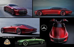 (Uno100) Tags: maybach vision 6 six red green coupe cabriolet 2016 mercedes
