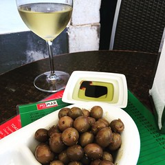 Olives and wine (JennyWilsonPics) Tags: olives wine tapas lagos portugal cafe mimar