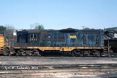 WM 5944 on 5-28-79 (C.W. Lahickey) Tags: wm emd gp9 connellsville