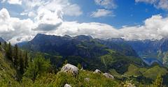 DSC_4280 (svetlana.koshchy) Tags: germany berchtesgadener land berchtesgaden landscape bavaria bayern alps alpen deutschland clouds reflection mountain knigssee outdoor hill