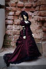 Women's Life: Married (AyuAna) Tags: bjd ball jointed doll dollfie ayuana design handmade ooak clothing clothes dress set historical victorian style iplehouse eid luna normalskin