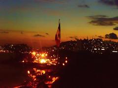 asta bandera Acapulco (nava22mx) Tags: acapulco guerrero mexico 2016 nava22mx bandera costera panoramica atardecer