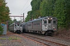 The Return of Weekend Service (Adrian Corus) Tags: njt njtr nj transit new jersey train rail arrow iii 1325 726 723 far hills gladstone line branch meet siding