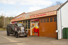 Fill 'er up (jonesy59) Tags: amberley cabover petrolpumps garage chevy museum