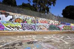 ESTO,  ROAR, ARBE, NATRL, AURA (STILSAYN) Tags: graffiti east bay area oakland california 2016 roar natrl aura arbe esto
