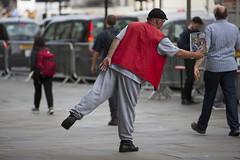 Big Issue (IanMackie) Tags: bigissue charity magazine seller streetvendor london clothing street