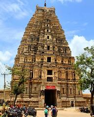Virupaksha Temple Hampi Karnataka - UNESCO world heritage site (aleem_114) Tags: virupakshatemple virupaksha temple unescosite heritagesite vijayanagara vijayanagaraempire hampi karnataka india architecture