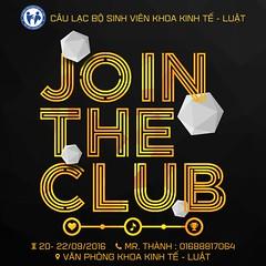 Join the Club avatar (nam fullbuster) Tags: join club cu lc b sinh vin khoa kinh t lut i hc thng mi tuyn thnh tnh nguyn th thao m nhc vn ngh nhy