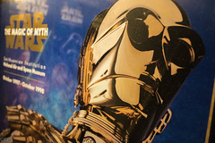 C-3PO reflective. Day 275 (RPStrick) Tags: star wars c3po robot poster reflective lightsaber luke trilogy original magic myth