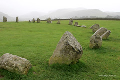 e castlerigg stone circle 2 (Simon -n- Kathy) Tags: keswick england lakedistrict lakelands hike rain walk castlerigg
