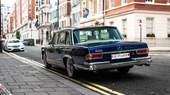 Dictatormobile (m.grabovski) Tags: mercedes benz 600 pullman grosser blue blau london curzon streen england great britain mgrabovski