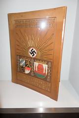 Nazi book (quinet) Tags: 2013 allemagne buch deutschland germany hakenkreuz munichstatemuseum mnchen nsdap rassismus stadtmuseummunich book livre nazi racism racisme svastika swastika munich bavaria