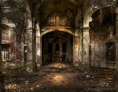 chiesa abbandonata - abandoned church (rodeo's - Roberto Defilippi) Tags: abandoned church loneliness chiesa piemonte hdr rodeos abbandono pancalieri churchofthethreecrosses niksoftware nikond300 alwaysexc photoshopcs6 photomatixpro42 rememberthatmomentlevel2 rememberthatmomentlevel3 bestevergoldenartists robertodefilippi besteverdigitalphotography chiesadelletrecroci