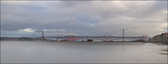Forth Bridges No2 - 15-12-12 (jimreid78) Tags: new forth forthbridges newforthcrossing