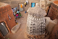 Life in Tiebele, Burkina Faso (NeSlaB ф.) Tags: world poverty africa decorations woman house west building beauty look architecture canon court photo ancient backyard women village mud traditional country culture photojournalism tribal clothes ornaments clay tradition ethnic fresco artisan developingcountries burkinafaso reportage nationalgeographic afrique ethnography ethnology tiebele argil ethnies gurunsi kassena nahouri neslab sonron sukhala