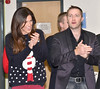 Glenda Gilson, Keith Barry at the annual Our Lady's Hospital for Sick Children Christmas Ward Walk, Dublin