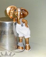 AP1010109 (Jesliedolls) Tags: sculpture elephant art animal artist handmade wip bjd artdoll anthro artiste poupée faitmain dartiste anthropomorphique bjdanimal elephantbjd jesliedolls