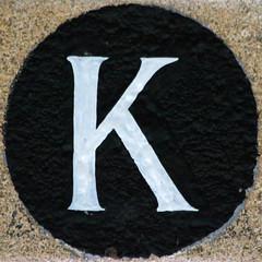 letter K (Leo Reynolds) Tags: k canon eos iso3200 7d letter squaredcircle f56 kkk oneletter 0006sec 235mm hpexif grouponeletter xsquarex xleol30x sqset088 xxx2012xxx