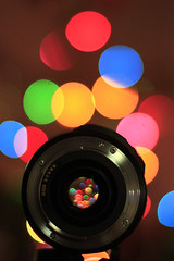 bokeh through the lens (bruciebonus) Tags: christmas tree lens lights december dec through 365 boke 2012 366 project365 bokehlicious bokehtastic 365photos 365make1shotperdayfor1year 365project2012 2012366photos 366photos2012