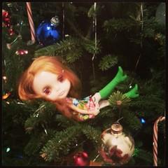 A merry little Christmas.  #Blythe #Kenner