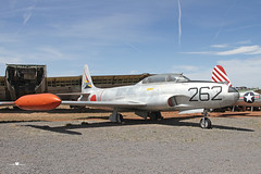 Lockheed T-33A Shooting Star (static) (PhantomPhan1974 Photography) Tags: arizona museum boneyard relics warbird planesoffame valleairport