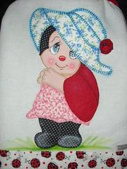 Capa de galo (Pintura em tecido. Panos de prato.) Tags: capadegalo