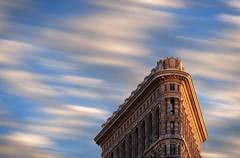Flatiron Building in New York (scott photos) Tags: nyc newyorkcity longexposure sky newyork building skyscraper nikon iron flat manhattan nikkor avenue 5th flatiron 80200mm 23rdstreet 80200mmf28d 80200mmf28 80200mmf28dnew byscottphotos d300s