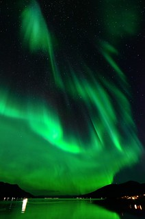 auroral lightpainting