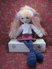 A&CDollTwo1 (toureasy47201) Tags: doll handmade knit yarn knitteddolls arnecarlos